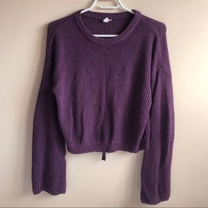 🌹2/$25🌹Garage Purple Knitted Sweater